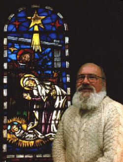 David HB Drake - Christmas Stained Glass